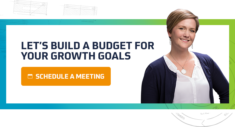 Build a budget for your growth goals with TANK