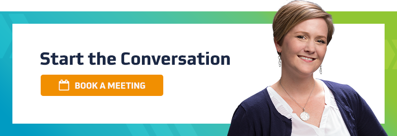 Start the conversation by booking a meeting