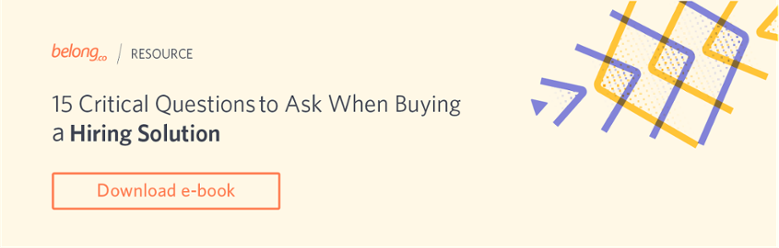 15 Questions When Buying a Hiring Solution