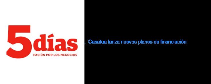 Casatua lanza nuevos planes de financiación