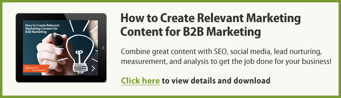 How to Create Relevant Marketing Content for B2B Marketing