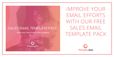Download our free sales email template pack call-to-action button