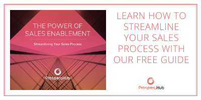 Learn how to streamline your sales process with our free guide call-to-action button