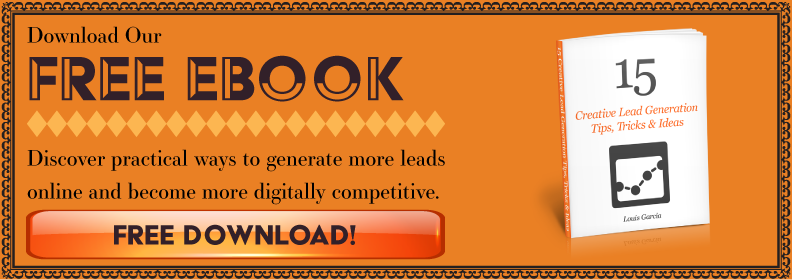 download our free ebook - 15 creative lead generation tips tricks & ideas