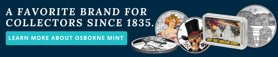 Osborne Mint Collectible Rounds and Bars