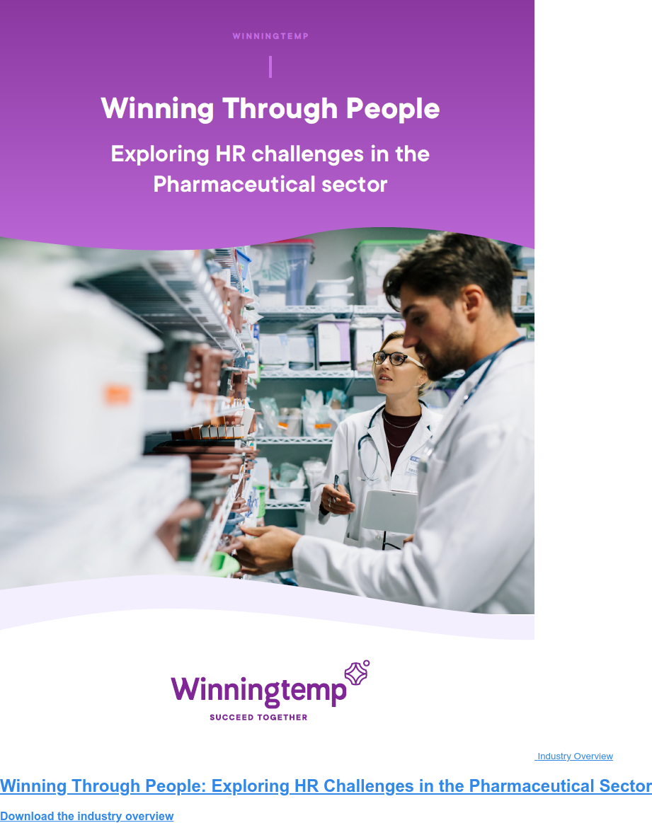 Industry Overview Winning Through People: Exploring HR Challenges in the Pharmaceutical Sector Download the industry overview