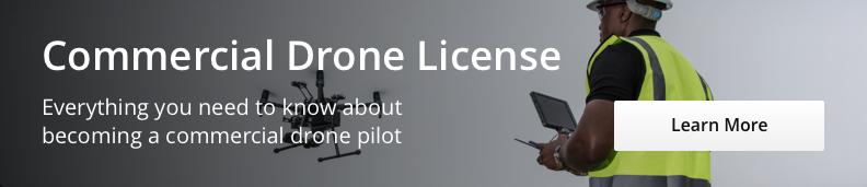 Commercial Drone License - Desktop CTA