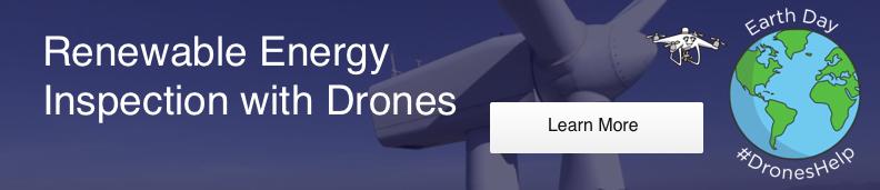Renewable Energy Drones Desktop CTA