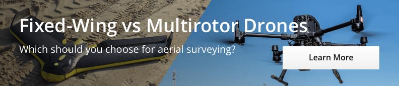 Fixed-Wing vs Multirotor - Desktop CTA