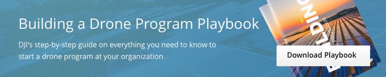 Building a Drone Program Playbook