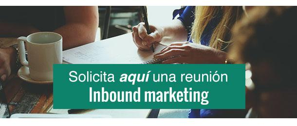 Solicita una reunión de Inbound Marketing