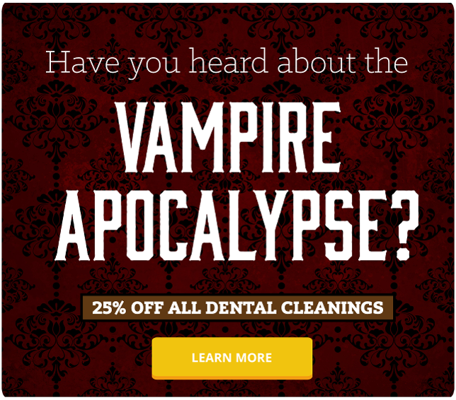 Have you heard about the vampire apocalypse?