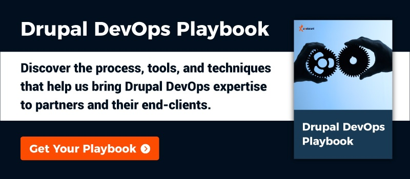 Drupal DevOps Playbook CTA