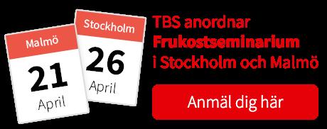 Frukostseminarium i Stockholm och Malmö