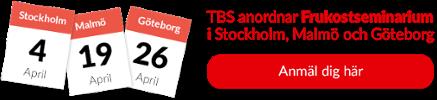 Frukostseminarium i Stockholm, Malmö & Göteborg