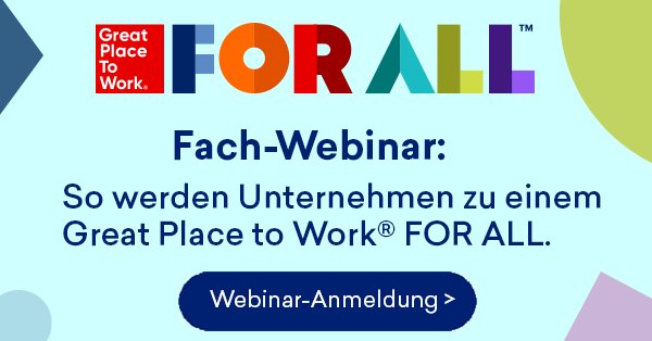 Fach-Webinar: Great Place to Work FOR ALL