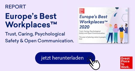 Europas Beste Arbeitgeber 2020 Report CTA