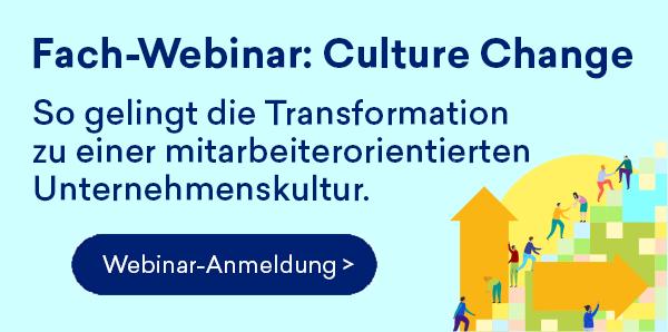 Culture Change Fach-Webinar