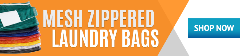 Shop Texon's Mesh Zippered Laundry Bags