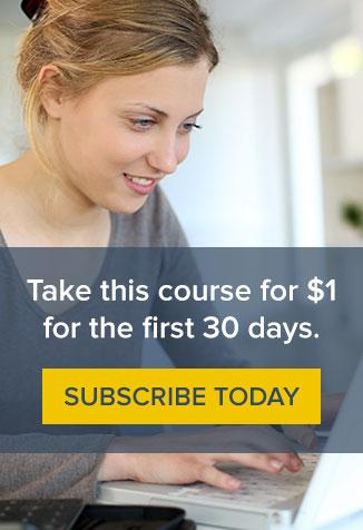 Subscribe to RECONVERGE Courses today for only $1