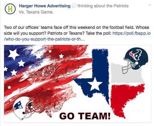 Patriots Vs. Texans Poll