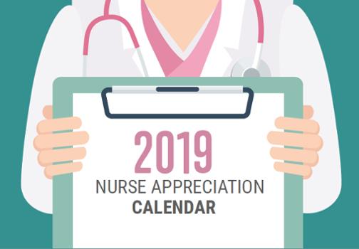 2019 Nurse Appreciation Calendar