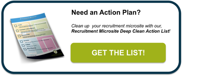 recruitment microsite