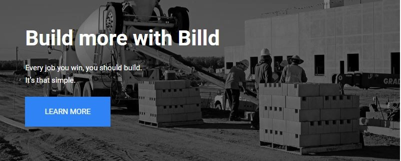 build more with billd. learn more