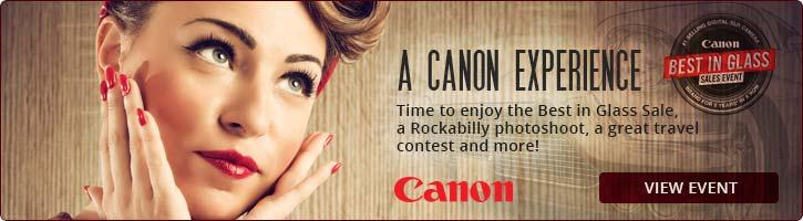 Canon Best in Glass Sale