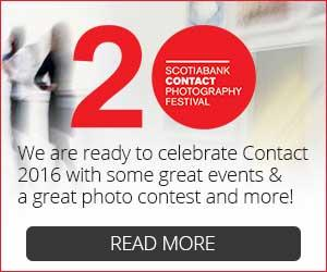 2016 Contact Photography Festival Banner