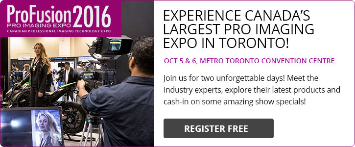 ProFusion Expo 2016 - Pro Video Trade show - Free tickets here