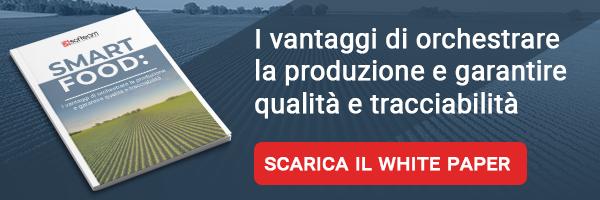 Softeam - White Paper - Smart Food: I vantaggi di orchestrare la produzione e garantire qualità e tracciabilità