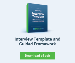 Interview Template and Guided Framework