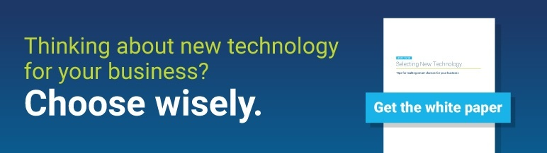 Selecting new technology - get the white paper