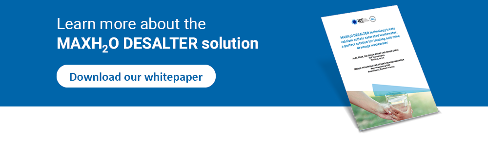 Learn more about the MaxH2O DESALTER solution - Download our whitepaper