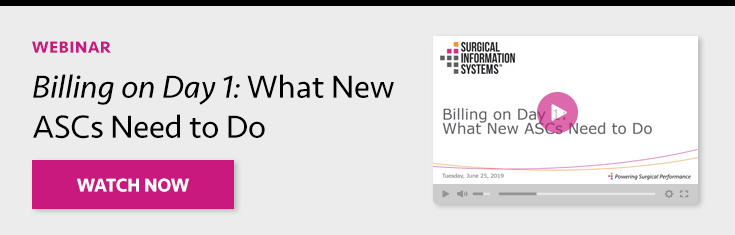 Billing on Day 1: What New ASCs Need to Do
