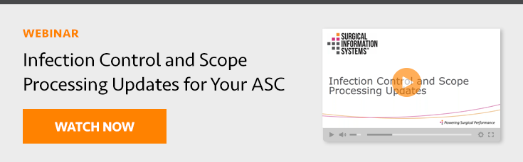 Infection Control for Your ASC Webinar