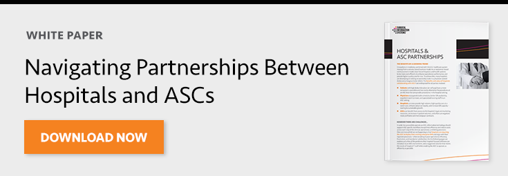 Hospitals and ASCs Partnerships