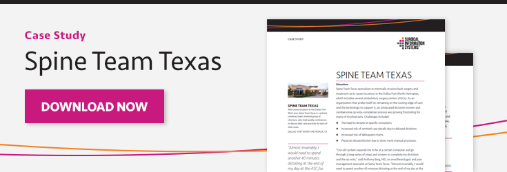 Case Study: Spine Team Texas