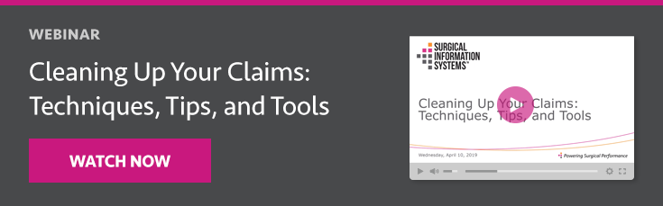 Webinar: Cleaning Up ASC Claims