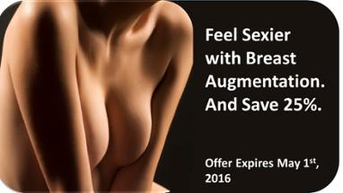 Save 25% Off Breast Augmentation For A Limited Time!