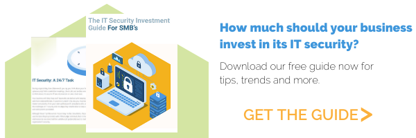 IT Security Investment Guide CTA