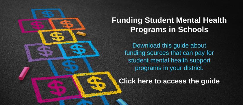 guide for funding student mental health programs in NJ schools