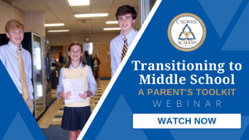 Transitioning to Middle School: A Parent's Toolkit Webinar