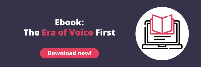Download this Free Ebook Now! : The Era of Voice First