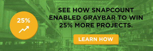 See how SnapCount enabled Graybar to win 25% more projects.