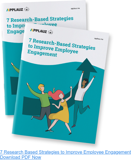 7 research-based strategies to improve employee engagement - Download PDF Guide
