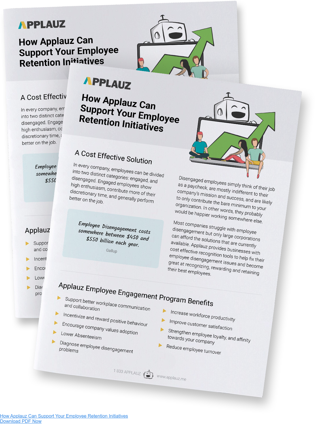 How Applauz Can Support Your Employee Retention Initiatives Download PDF Now