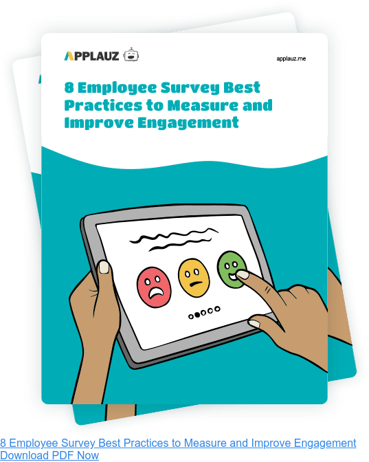 8 Employee Survey Best Practices to Measure and Improve Engagement - Download PDF Guide