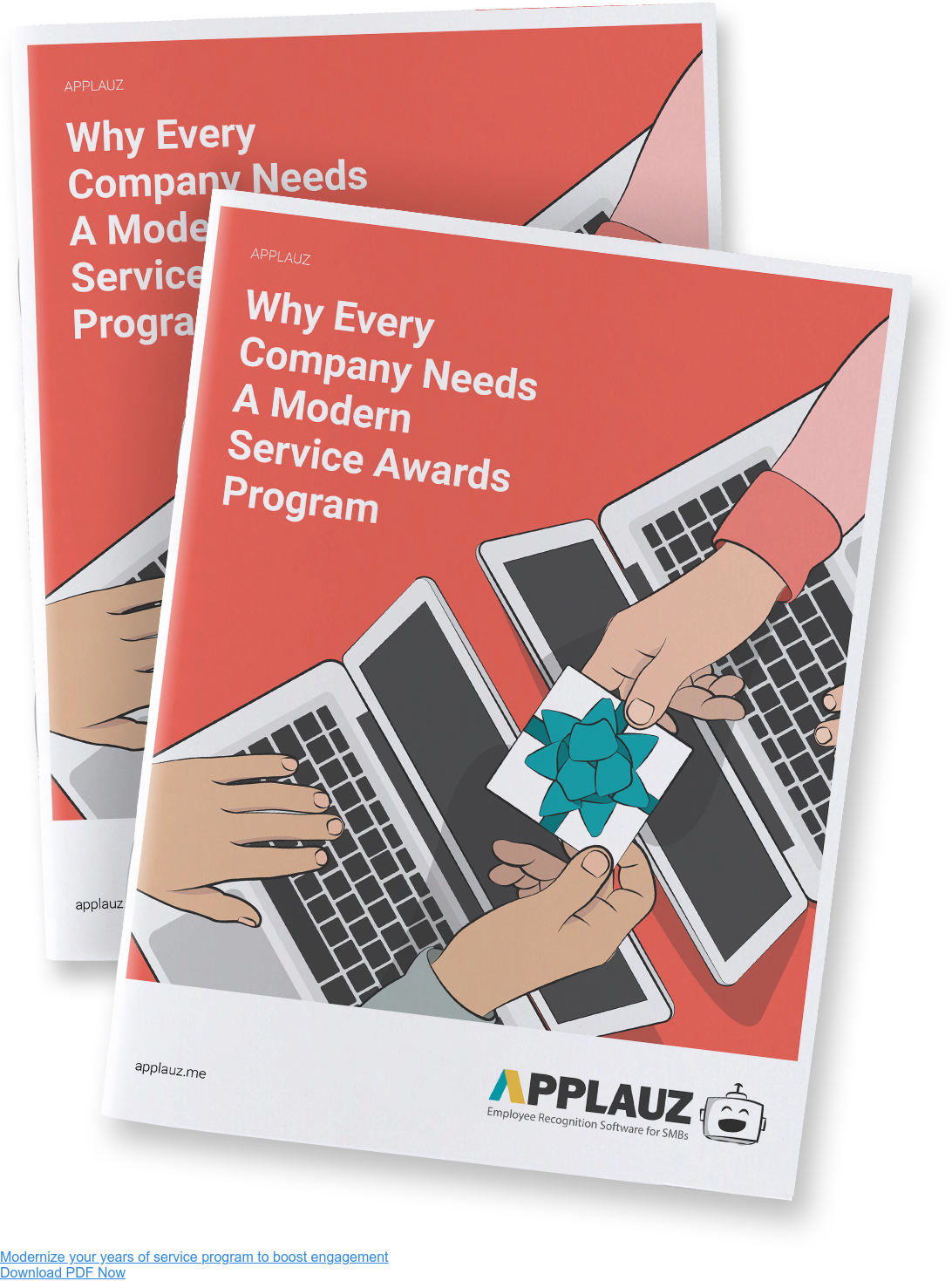Modernize your years of service program to boost engagement - Download PDF Guide